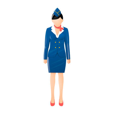 fullbody: Air hostess