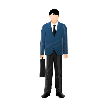 fullbody: Businessman Illustration
