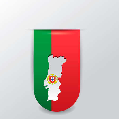portugal: Portugal hanging pennant Illustration