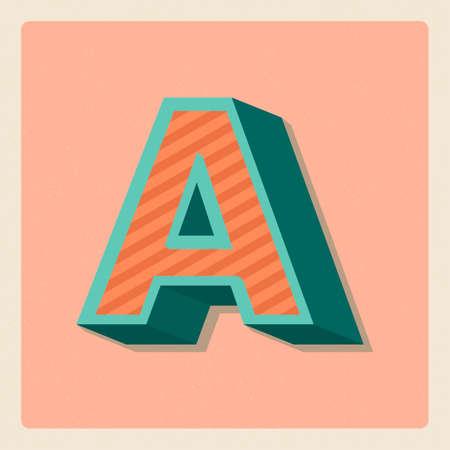 vowel: Letter a