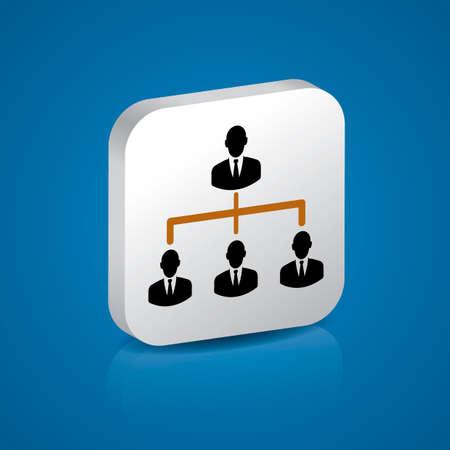 jerarquia: jerarquía del asunto Vectores