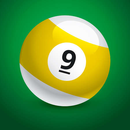 9 ball: Snooker ball