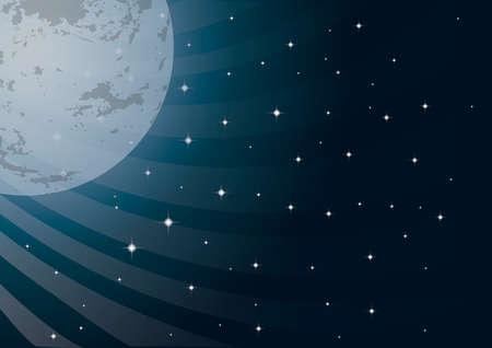 sky night: Sky night background Illustration