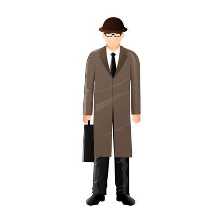fullbody: Detective Illustration