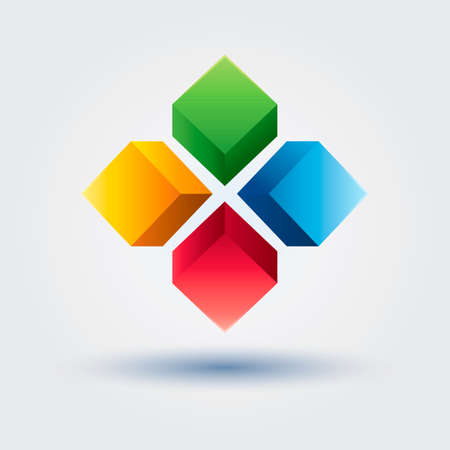 abstract design elements: Abstract icon