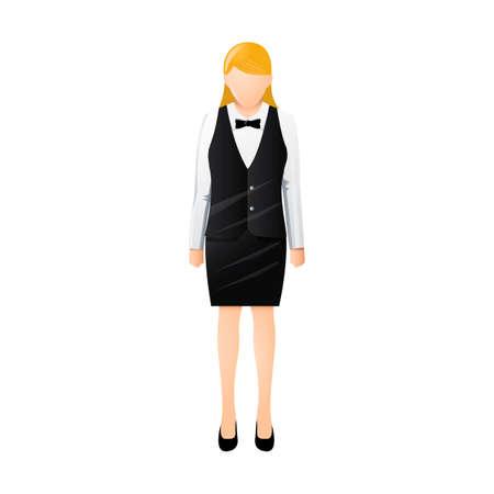 hospitality staff: Waitress
