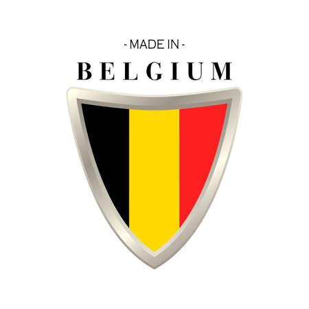 origin: Made in belgium label