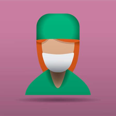 surgeon: Chirurgo  Vettoriali