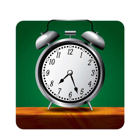 hour hand: Alarm clock