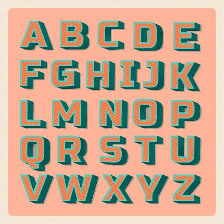 r p m: Alphabet set