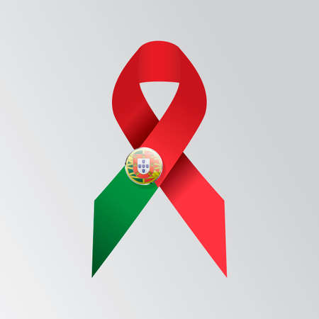 ribbon: Portugal ribbon