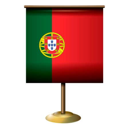 drapeau portugal: Portugal conception de drapeau Illustration