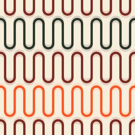 seamless: Seamless wavy background Illustration