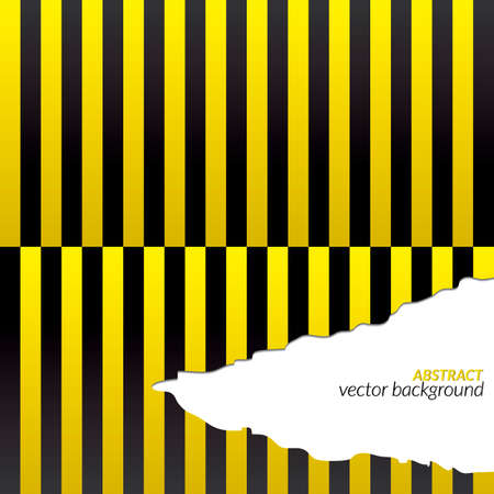 siding: Yellow and black stripes background