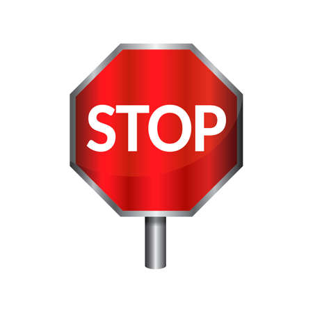 slow down: Stop signboard