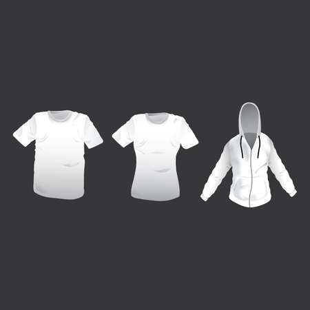 Collection of t-shirts and hoodie