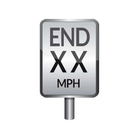 dead end: Dead end signboard