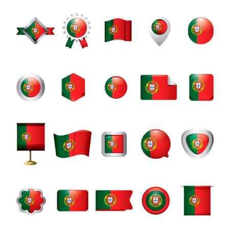 drapeau portugal: Collection du Portugal drapeau