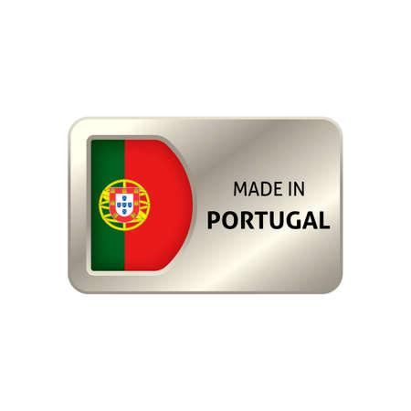 origin: Made in portugal label
