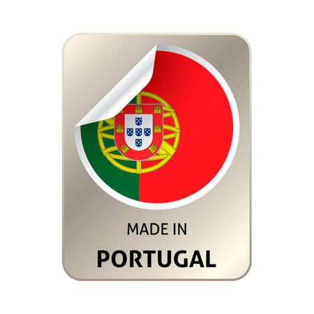 portugal: Made in portugal sticker