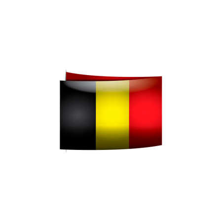 belgium flag: Belgium flag card