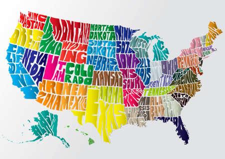 Kaart van de VS
