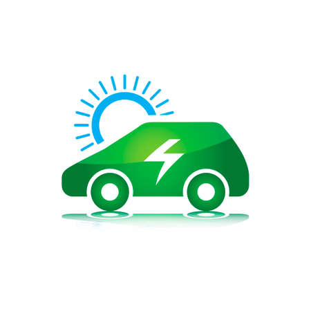 car: Solar car Illustration