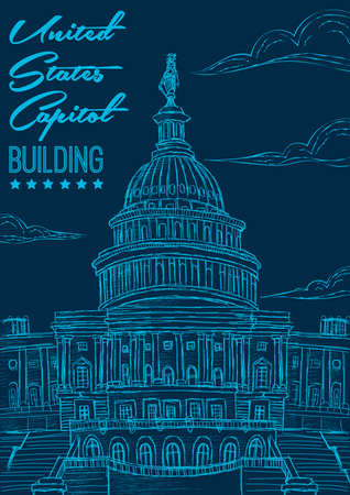 capitol building: United states capitol building poster