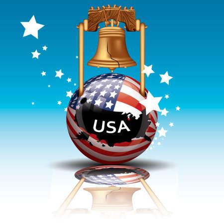 liberty bell: Usa liberty bell