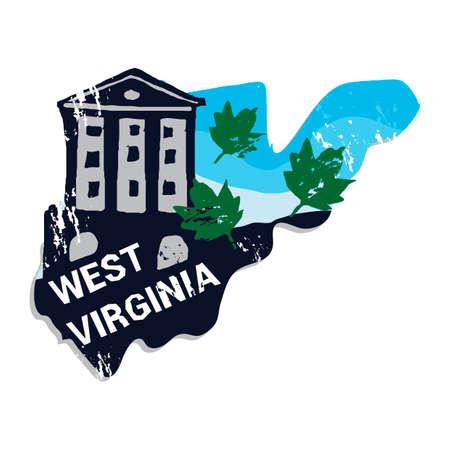acer: West virginia state Illustration