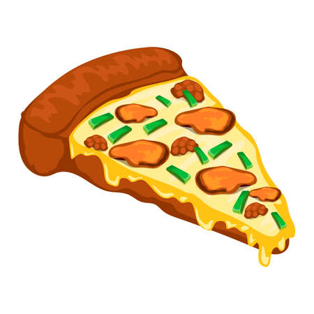 onion slice: Pizza slice