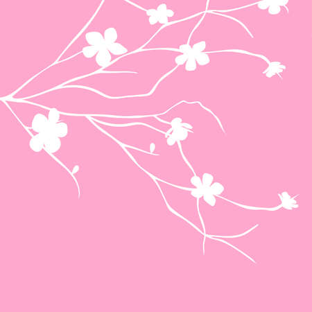 repetition: Floral background