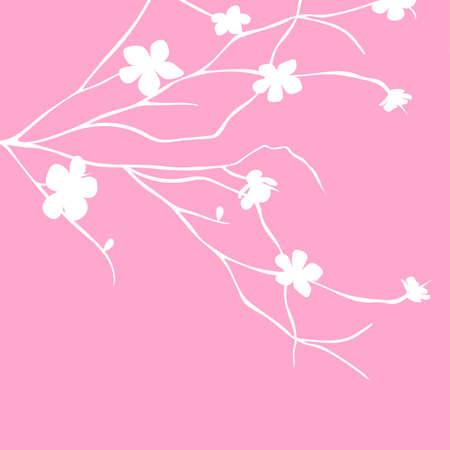 Fondo floral Foto de archivo - 45404226
