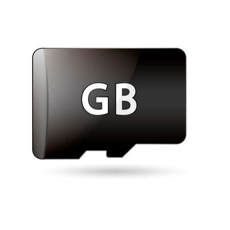 memory card: Memory card Illustration