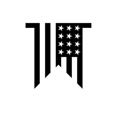 pennant: USA pennant