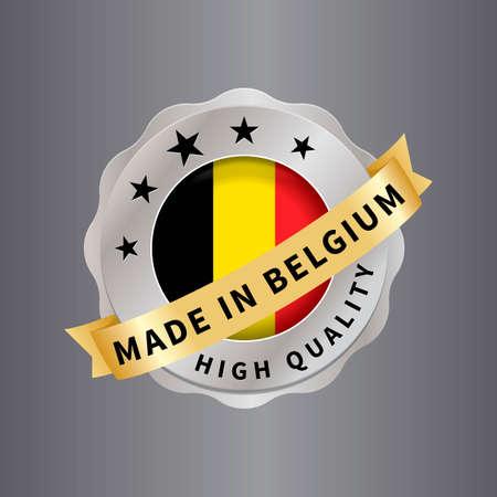 made in belgium: Made in belgium label