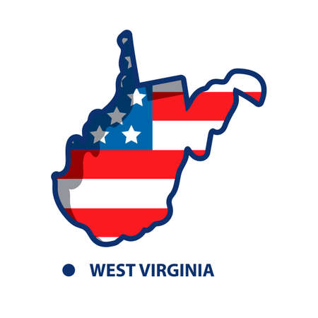 west virginia: Map of west virginia