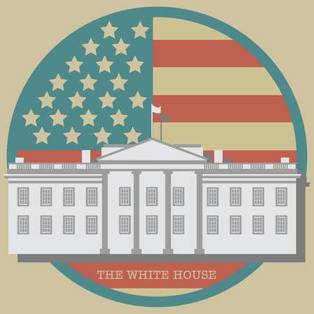 white house: The white house poster