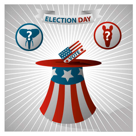 election day: Election day design