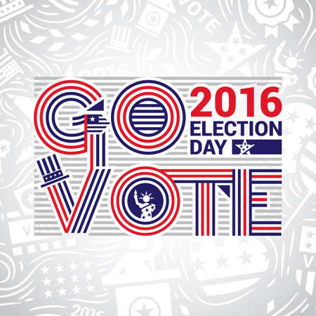 election day: USA election day design