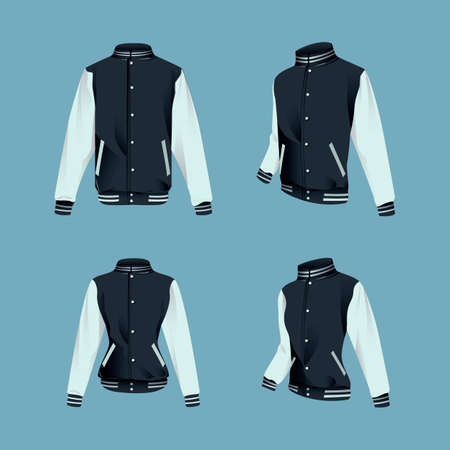 menswear: Collection of jackets