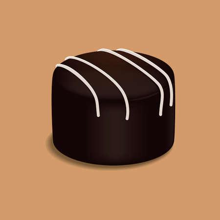 belgian: Belgian chocolate Illustration