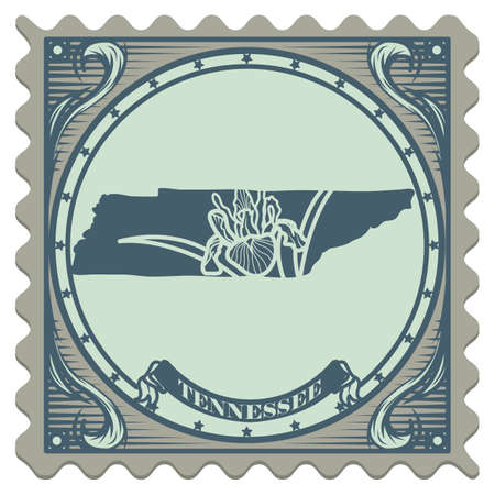postage: Tennessee state postage stamp