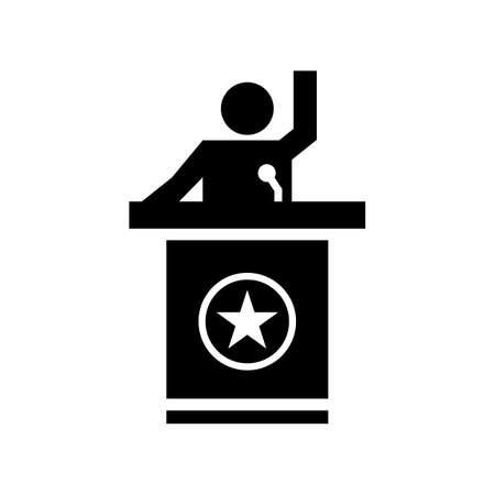 statesman: Man giving a speech