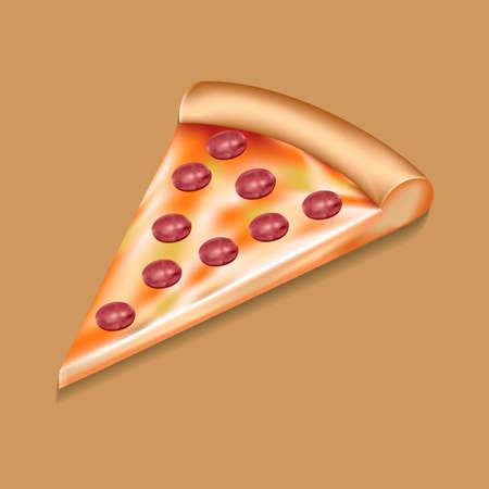 slice: Pizza slice