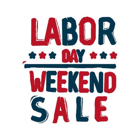 US labor day sale Vetores