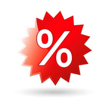 the percentage: Percentage sticker