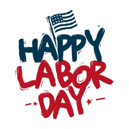 Día laboral de EE.UU. Foto de archivo - 45404738