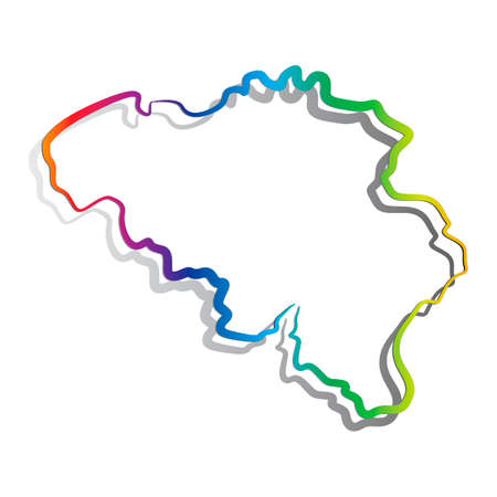 lightweight: Map of Belgium