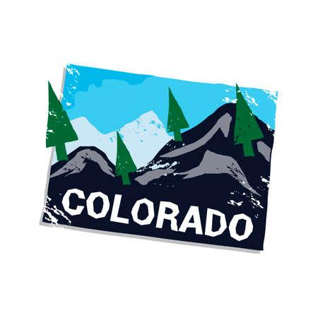 rocky mountain: Colorado state
